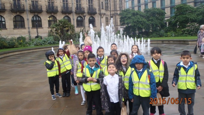 Y1 visit to Sheffield city centre